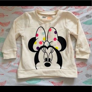 Jumping Beans Minnie Mouse Sweatshirt